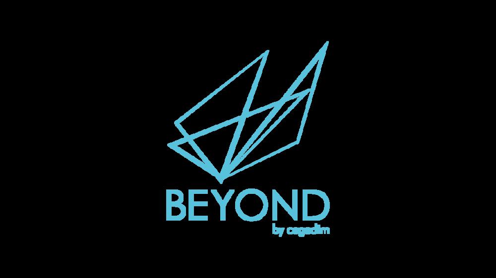 logo BEYOND by Cegedim, le hub de services à la pointe de la technologie