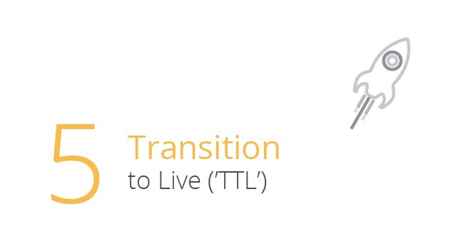 Transition to Live